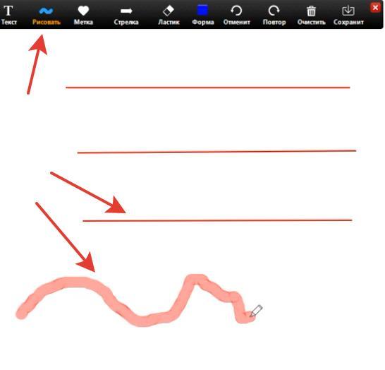 Рисование линий и кистей