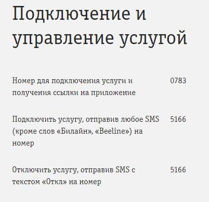 """Информация об услуге """"Локатор"""""""