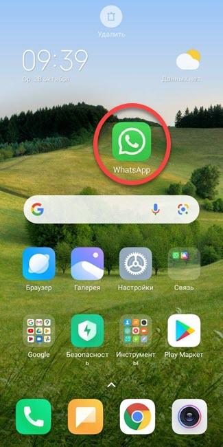 WhatsApp на рабочий стол