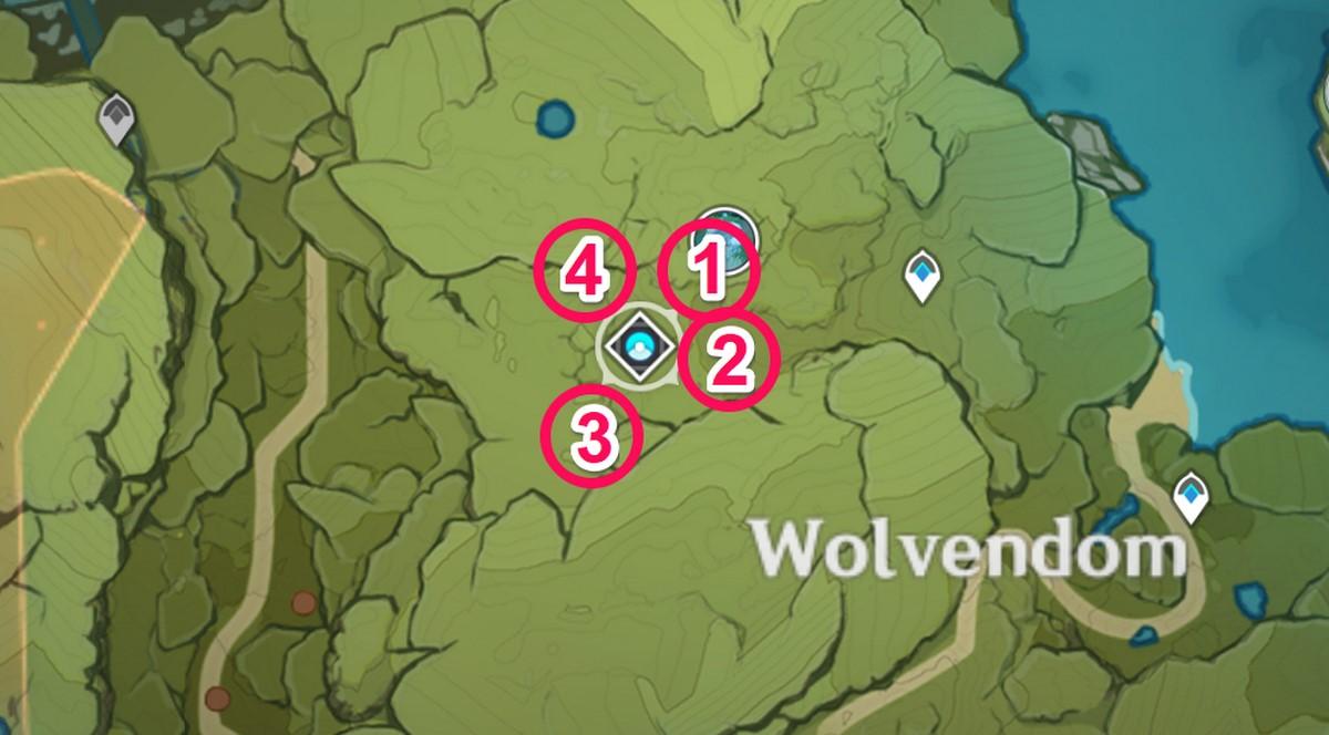 Духи на карте