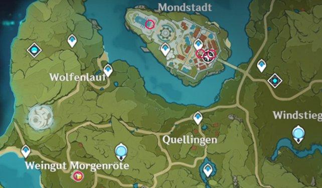 Нужная локация на карте