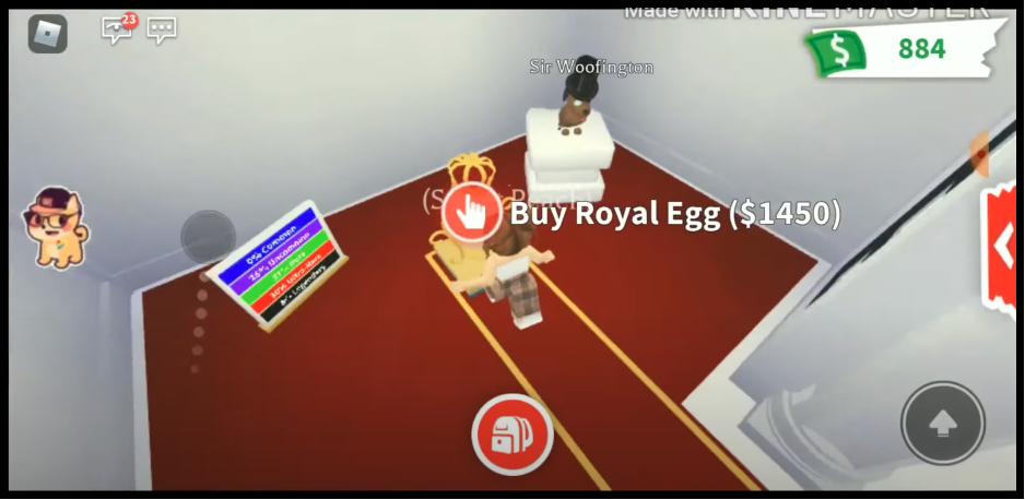 Покупка яиц в Адопт Ми