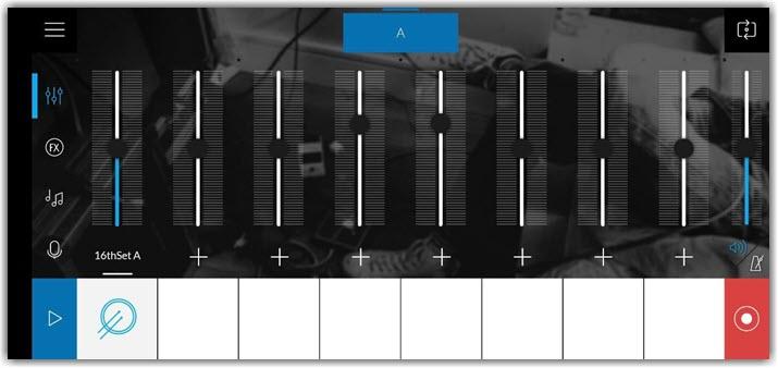 Интерфейс приложения Music Maker Jam