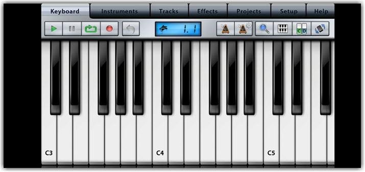 Синтезатор для создания музыки на Android